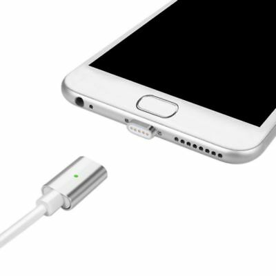 2.4A Micro USB Charging Cable Magnetic Adapter Charger For Samsung Android US