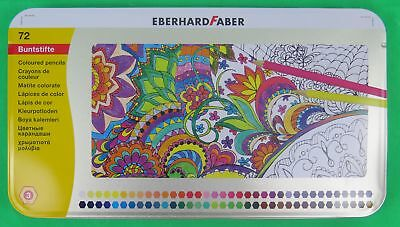 Eberhard Faber Hexagonal Buntstift 72er Metalletui