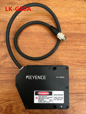 KEYENCE LK-G80A Tested and used in good condition