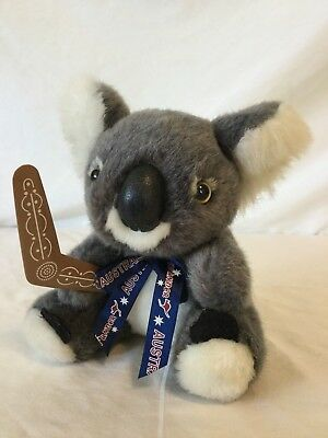 Boomerang bear koala plush doll american greetings cards blue koala bear holding a boomerang plush stuffed animal australia souvenir 6 b45 m4hsunfo
