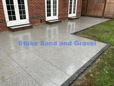 Silver Grey Blue Black Natural Granite 900x600 Mixed Sized Patio Indian Stone