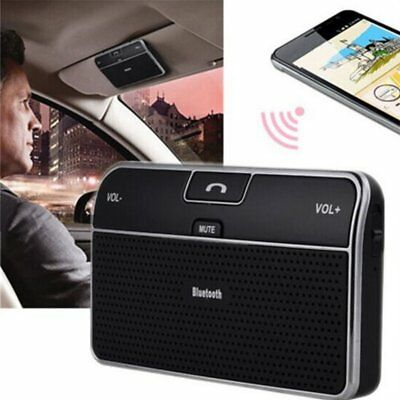 Bluetooth 4.0 Hands-free Multipoint Speakerphone Speaker Car Kit Sun Visor ND