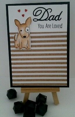 Handmade Father's Day Card: Dad You are Loved