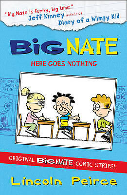Big Nate Compilation 2: Here Goes Nothing, Peirce, Lincoln, New Book