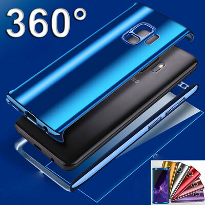Luxury Plating Shockproof Hard Bumper Case for Samsung Galaxy S9 S8Plus/S7 Cover