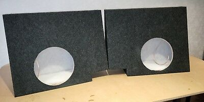 Ford ute custom subwoofer box - suits BA BF FG 12inch sub ported enclosure