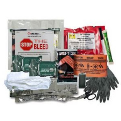 One Beat CPR Basic Bleeding Control Kit 1 - Vacuum Wrapped - BK-OBC-BK1