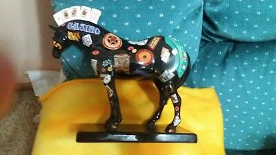 The Trail of Painted Ponies Five Card Stud Horse Figurine by Gerri Mattson 1459