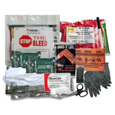 One Beat CPR Intermediate Bleeding Control Kit 1 - Vacuum Wrapped - BK-OBC-IK1