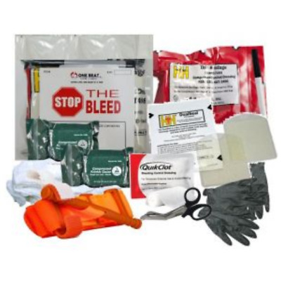 One Beat CPR Intermediate Bleeding Control Kit 2 - Vacuum Wrapped - BK-OBC-IK2