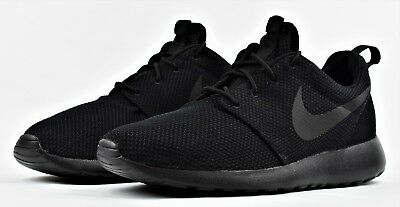 b0effeae3c8b0 ... sale nike roshe one triple black new mens shoes lifestyle sneakers  casual 89d38 e3c75
