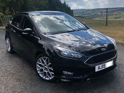 2015 15 Ford Focus Zetec S 1 5 Tdci Damaged Repaired Cat N Non Structural