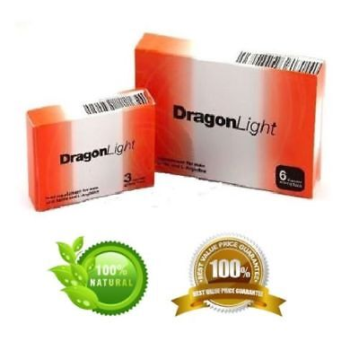 Original Dragon Light Herbal Male Enhancement 475mg Powerful Strong Sex Capsules
