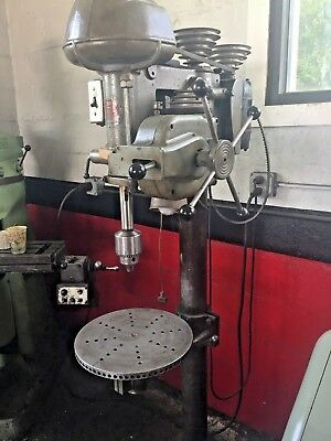 Walker Turner Drill Press with Autofeed