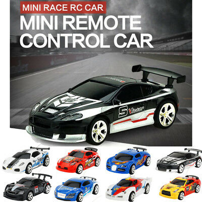 1:58 Multicolor Can Mini Speed RC Radio Remote Control Micro Racing Car Toy Gift
