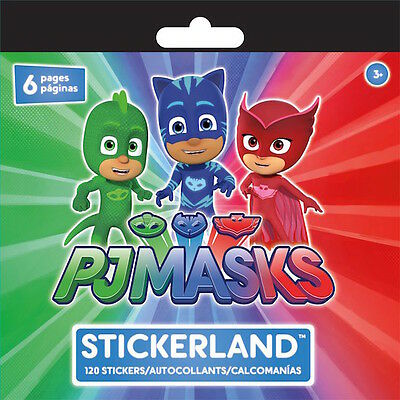 Amaya Greg #3 Connor 25 PJ Masks Stickers Party Favors Teacher Supply