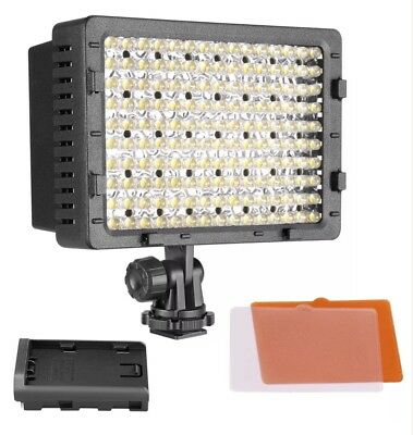 NEEWER CN-160 Dimmable 160 LED Camera Camcorder Video Light for DSLR