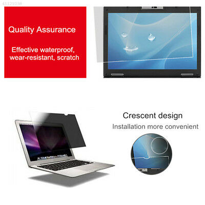 """Privacy LCD Screen Filter Anti-Glare Protector Film For 14"""" inch Laptop Notebook"""