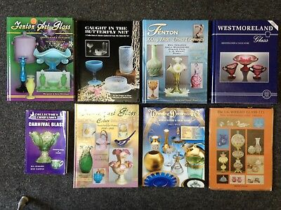 Vintage Value Price Guide Books ID. Fenton Westmoreland Carnival Art Glass