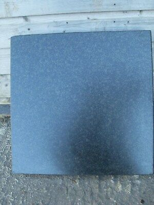 "Granite Surface Plate / Table 18"" x 18"" x 3 1/8"" - As Photo"