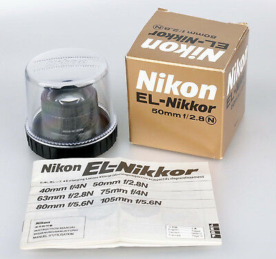 Nikon EL-Nikkor 50mm 2,8 Objektiv enlarger lens 2407937