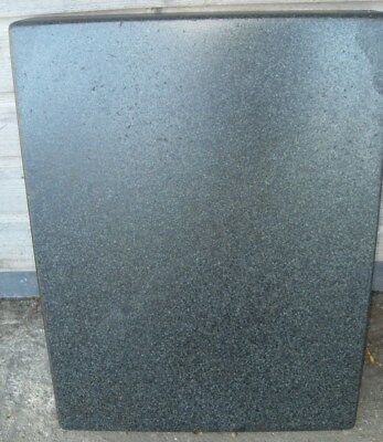 "Granite Surface Plate / Table 24"" x 18"" x 3 3/16"" - As Photo"
