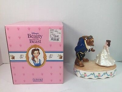 Beauty and the Beast Music Box Belle Schmid 227825 Disney READ