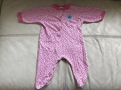 Gerber Baby Girls Infant Coverall Bodysuit sleepwear 100% Cotton 3-6 Months