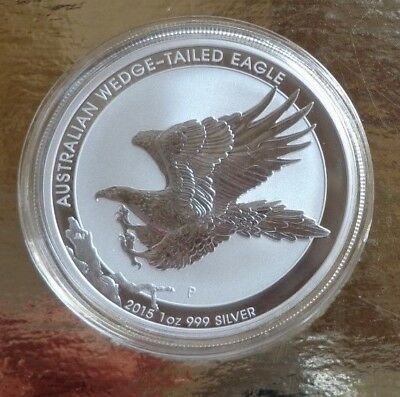 Australien 1 Dollar 2015 ° 1 oz. 9999 Silber ° Wedge-Tailed Eagle °
