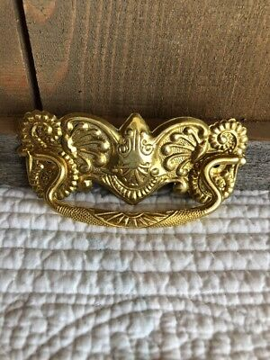 "0837DiscountShip ANTIQUE STYLE VICTORIAN DRAWER PULLS FURNITURE PULL 3"" CC,BRASS"