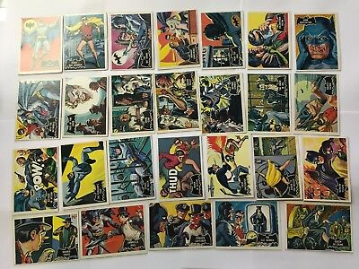 Batman 55 Complete Trading Card Set/1966 National Periodical Publications