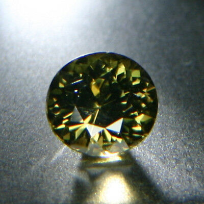 Saturated Yellowish Green KORNERUPINE 3.11 ct Slightly Included, Fine Cut, +GIR