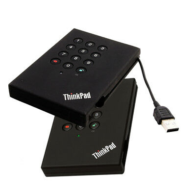 "Lenovo ThinkPad USB Portable Secure Hard Drive S-ATA - 2.5""  USB 2.0 / 320 GB /"