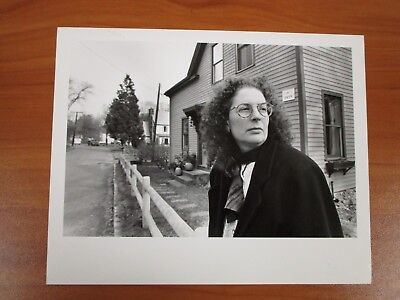 Vintage Glossy Press Photo Natick MA Farwell Rd Resident Sue Cohen Thompson