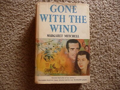 Vintage Hardcover Book Gone With The Wind By Margaret Mitchell1936 MCMXXXVI