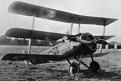 New 5x7 Word War I Photo: Sopwith Triplane of the Royal Canadian Air Force