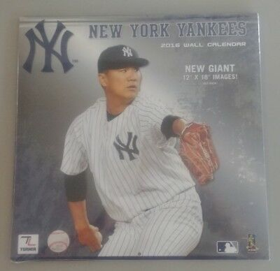 NEW YORK YANKEES / 2016 Wall Calendar