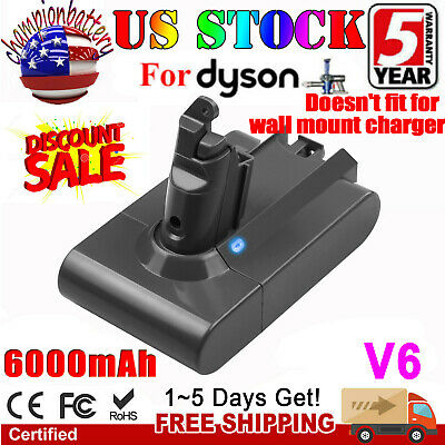 For Dyson 965874-02 V6 DC61 DC62 Vacuum Cleaner Li-ion Replacement Battery CPB
