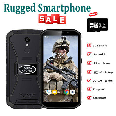 【32GB】Android 3G Rugged Smartphone MT6739 Quad Core Cell Phone Rand Rover XP9800