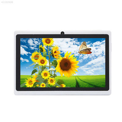 "7"" inch Tablet PC Quad Core 1+16GB Android 4.4 Wi-Fi Dual Cam GPS White"