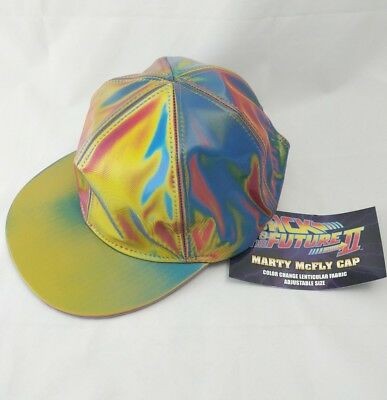 Marty McFly Licensed Color Changing Hat Back to the Future 100% Authentic
