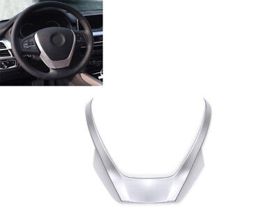 1PCS ABS Chrome Steering Wheel Sequins For BMW X3 X4 X5 F15 F25 F26 2014-2016
