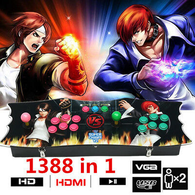 1388 in 1 Classical Game Pandoras Box Home Arcade Video Console Gamepad 2 Player