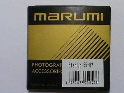 55-62 55MM TO 62MM MADE IN JAPAN STEP UP METAL ADAPTER RING Old NEW Stock
