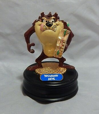 Ron Lee Signed Tasmanian Devil Music Box by San Francisco Music Box Company