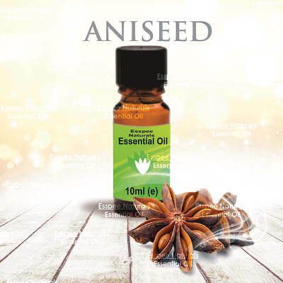 Aniseed Essential Oil 10ml - 100% Pure - For Aromatherapy & Home Fragrance