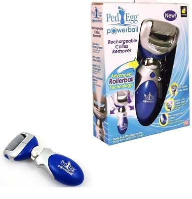 Genuine Jml Ped Egg Powerball Rechargable Callus Remover Rollerball Smooth Feet
