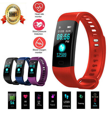 Y5 Fitness Sport Activity Tracker Smart Watch Heart Rate Blood Pressure Monitor
