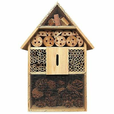 Deuba XXL Insects Hotel 48 cm Insect House Bug Box Bee Home Nesting Hibernation