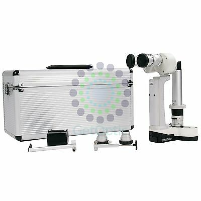 B.New Portable Hand Held Slit Lamp 3500 with case CE